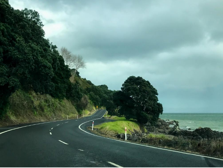 The edge of the Coromandel Peninsula