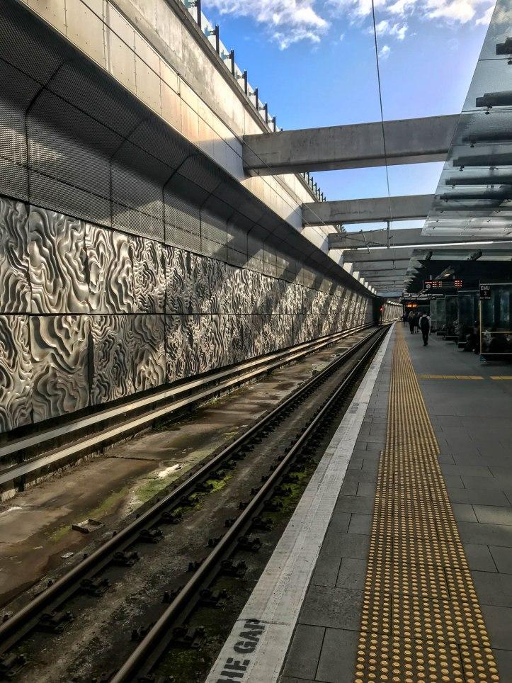 New Lynn Station by Elle Schroder